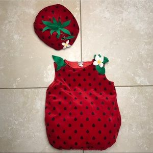 Strawberry Toddler Baby 18-24mo Costume